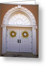 Doors Of San Francisco De Asis Greeting Card