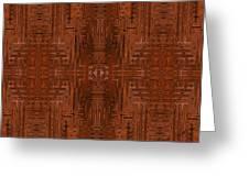 Doors Of Zanzibar Cayenne Greeting Card