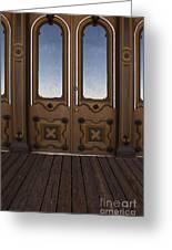 Doors To The Old West Greeting Card