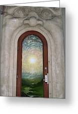 Doorway 17 Greeting Card