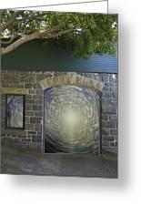 Doorway 20 Greeting Card