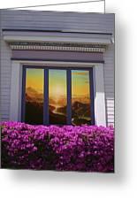 Doorway 21 Greeting Card