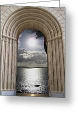 Doorway 22 Greeting Card