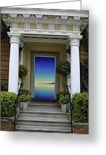 Doorway 8 Greeting Card