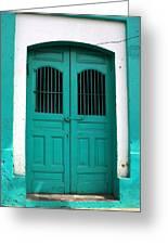 Doorway Of Nicaragua 002 Greeting Card
