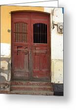 Doorway Of Nicaragua 006 Greeting Card