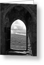 Doorway To Irish Landscape 1 Greeting Card