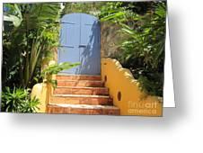 Doorway To Paradise Greeting Card