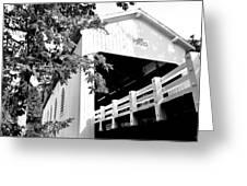 Dorena Bridge Greeting Card