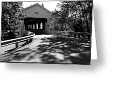 Dorena Covered Bridge Greeting Card