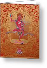 Dorje Pagmo Greeting Card