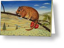Dormouse Number Two, 1994 Greeting Card