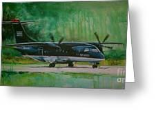 Dornier 328 Usairways Psa Greeting Card