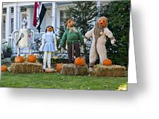 Dorothy And Friends Greeting Card