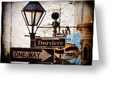Dorsiere Greeting Card