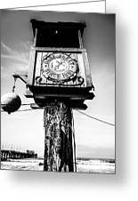 Dory Fleet Crow's Nest Black And White Picture Greeting Card
