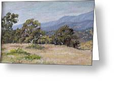 Dos Pueblos Canyon Greeting Card