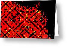 Dot Invasion Greeting Card