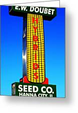 Doubet Seed Company 1.1 Greeting Card
