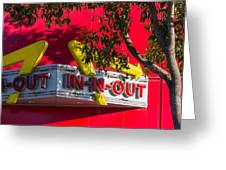 Double Double With Cheese Animal Style Yum Greeting Card