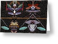 Double Totem Greeting Card