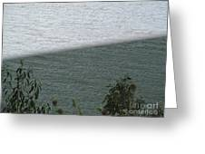 Double Water Ripples Greeting Card