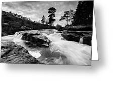 Douchart Falls Greeting Card