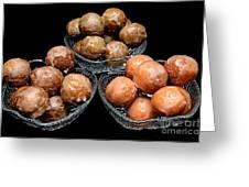Dough Nut Holes Greeting Card