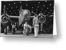 Douglas A20 Bomber Greeting Card