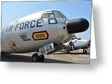 Douglas C-133 Cargomaster Greeting Card