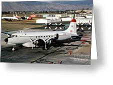 Douglas C-54e Firefighting Airtanker N460wa Greeting Card
