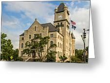 Douglas County Courthouse 2 Greeting Card
