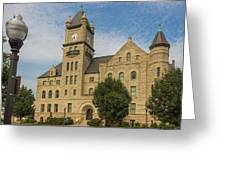 Douglas County Courthouse 5 Greeting Card