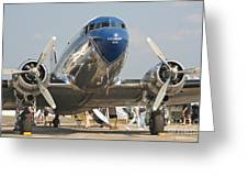 Douglas Dc-3 Commercial Airliner Greeting Card