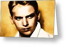 Douglas Fairbanks Jr Greeting Card