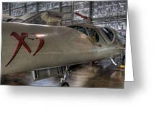 Douglas X-3 Stiletto Greeting Card
