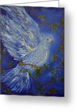 Dove Spirit Of Peace Greeting Card