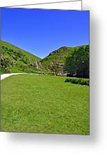 Dovedale - Stepping Stones Area Greeting Card