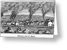 Dover, New Jersey, 1844 Greeting Card