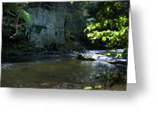 Dowlin Forge Park - Brandywine Creek Greeting Card