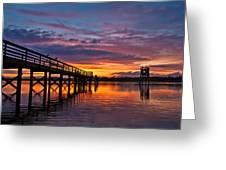 Down At The Dock Greeting Card