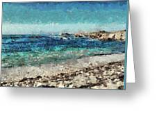Down By The Sea 2 Greeting Card