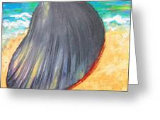 Down By The Seashore Greeting Card