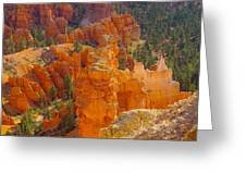 Down Into Bryce Greeting Card by Jeff Swan