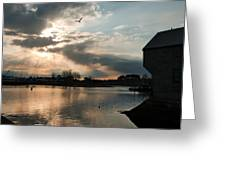 Down Of Portsmouth Greeting Card