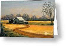 Down On The Farm Greeting Card