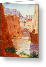 Down The Canyon - Day Two Greeting Card