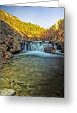 Down The Gorge Greeting Card
