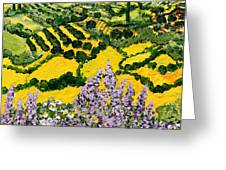 Down The Hill Greeting Card