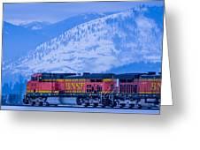 Down The Kootenai  -  150111a-075 Greeting Card